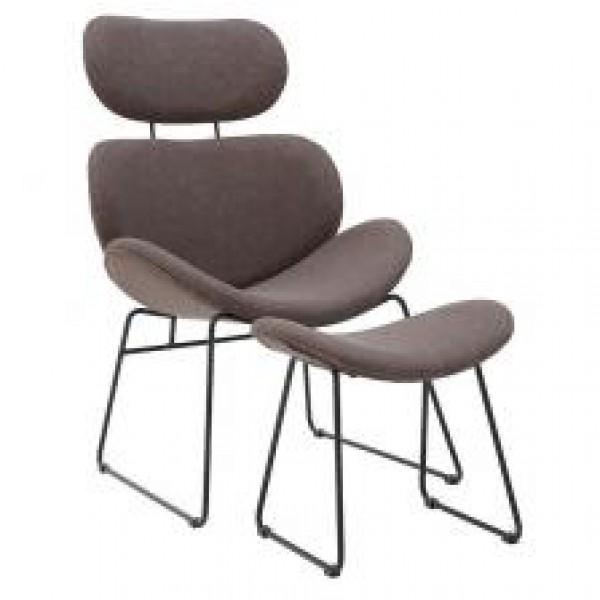 INART Πολυθρόνα με Υποπόδιο Π: 63cm x Β: 58cm x Υ: 96cm  ΚΩΔΙΚΟΣ: 3-50-668-0007