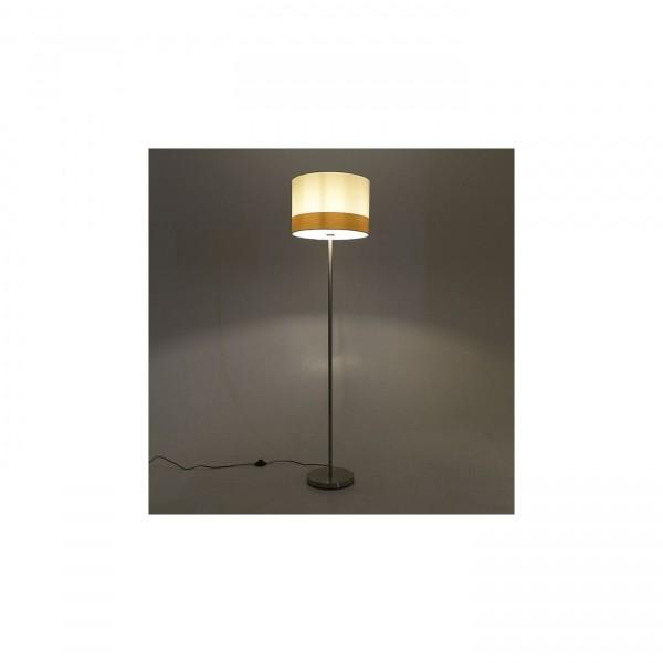 Inart Επιδαπέδιο Φωτιστικό Φωτιστικό Δαπέδου Λευκό με Ύψος 155cm Κωδικός: 3-15-585-0008