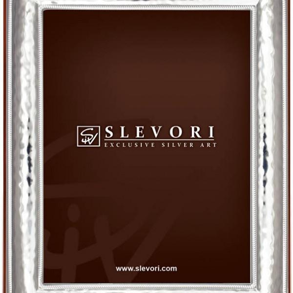 Κλασική κορνίζα με σφυρίλατο εφέ. 101AW-10X15-A Slevori