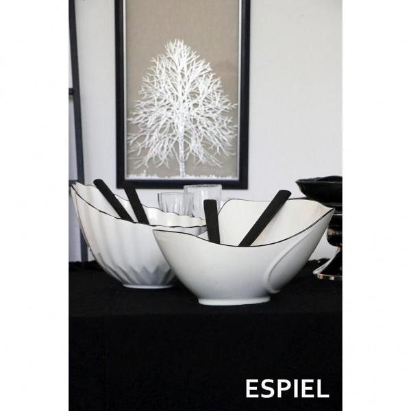 Σαλατιέρα με Κουτάλες Espiel 32,5x31,5x18,50εκ. LEK108 - ESPIEL - LEK108