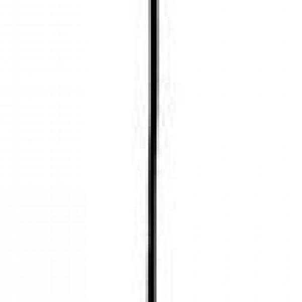 Eduardo Κρεμαστό Καπέλο με Βάση σε Σχήμα Κώνος Γυαλι με Ξύλινες Λεπτομέρειες Φ19cm Υ100cm Σατινάτο Λευκό 3087400 viokef