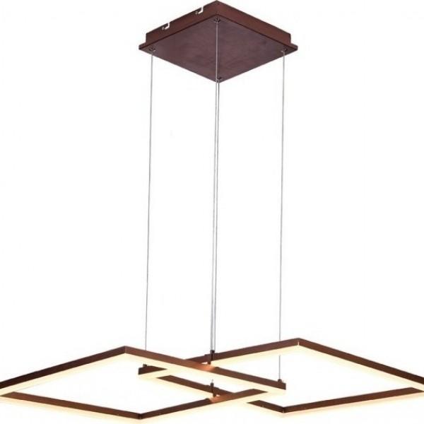 Linus Κρεμαστό Μέταλλο Ρόμβος Φ98cm Υ100cm Καφέ Μεταλλικό 4173600 viokef