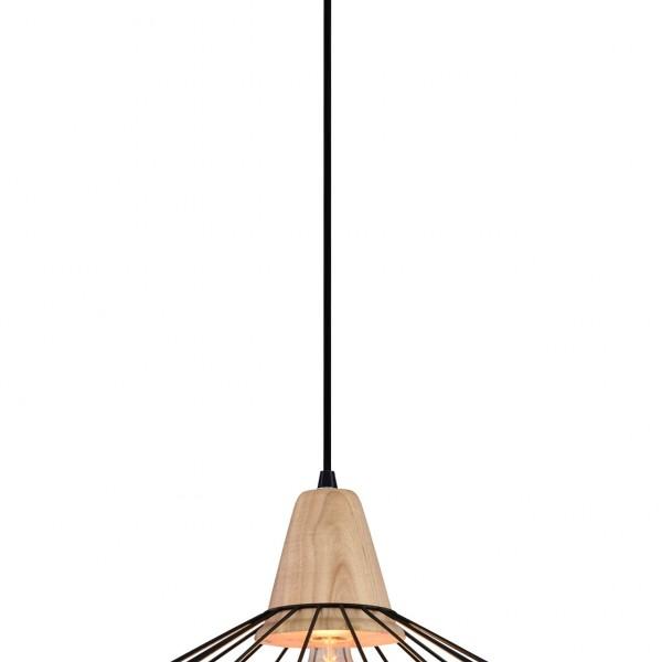 Φωτιστικό Οροφής Artemis SP1 Black 00514 SOLLO