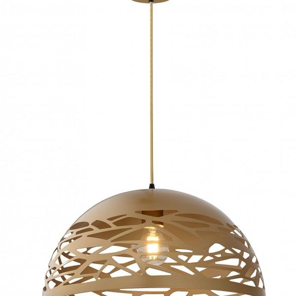Φωτιστικό Οροφής Athena SP1 Gold 00538 SOLLO