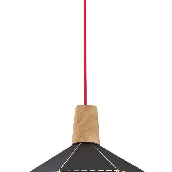 Φωτιστικό Οροφής Demeter SP1 Black 00552 SOLLO
