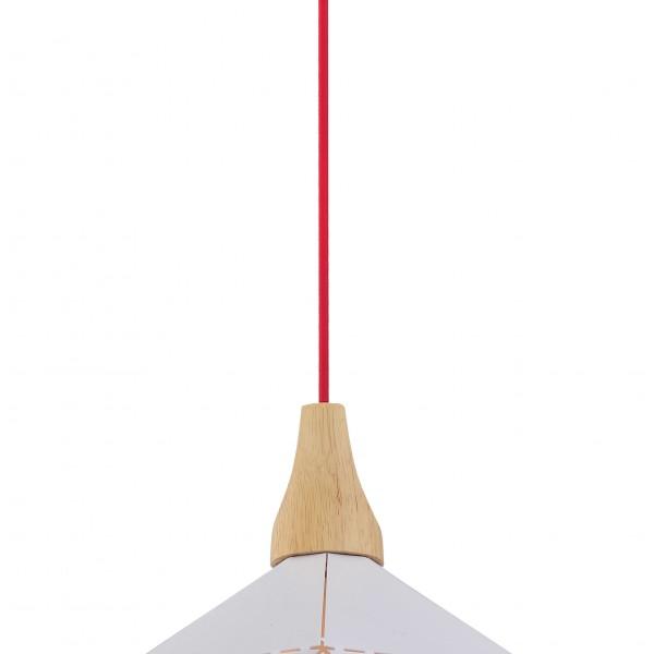 Φωτιστικό Οροφής Demeter SP1 White 00569 SOLLO