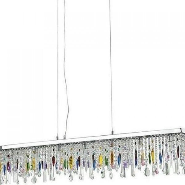 Πολυέλαιος 7φωτος Ideal Lux Giada Color 099170