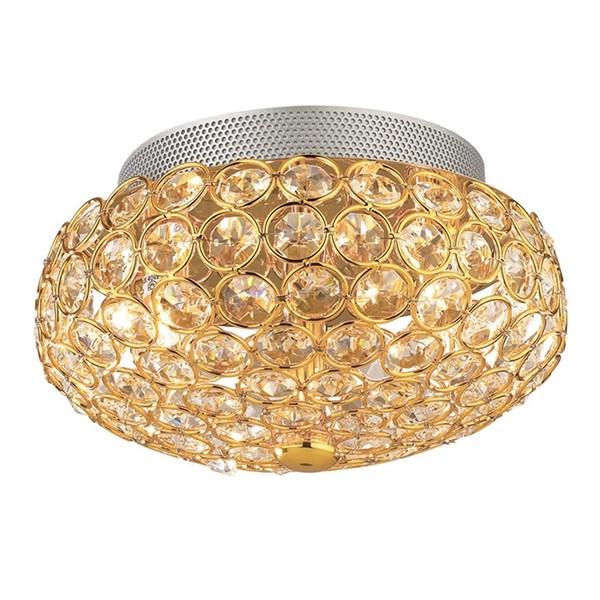Πλαφονιέρα Οροφής 3φωτη Ideal Lux King 075402