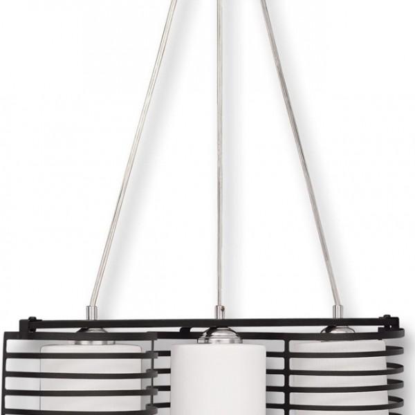 Φωτιστικό 3Φ Μεταλλικό Μαύρο Πλέγμα με Γυαλιά TZ-976-3 ARlight