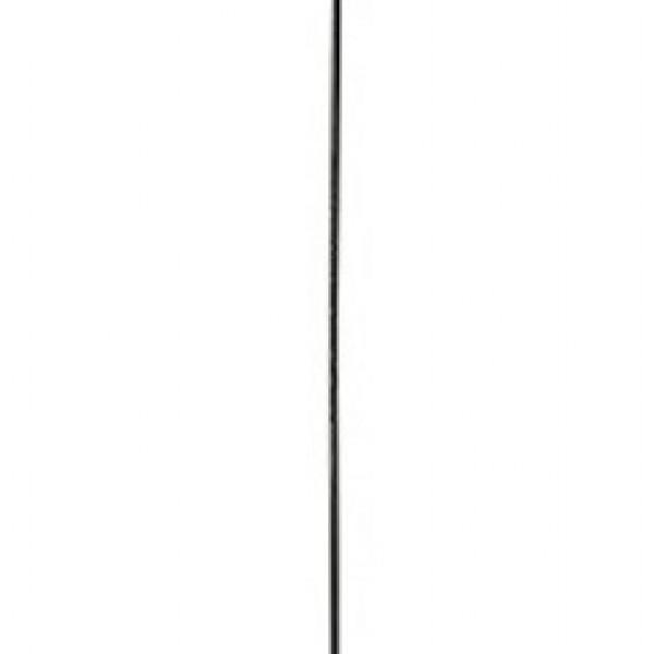 Φωτιστικό Οροφής Μονόφωτο Μεταλλικό Χαλκός Σφαίρα 35x110cm