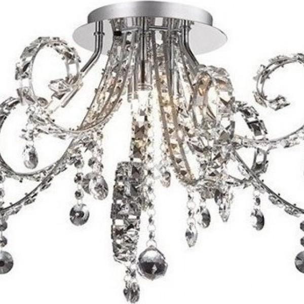 Ideal Fiore Κρυστάλλινο Φωτιστικό Οροφής 6Φ  089430