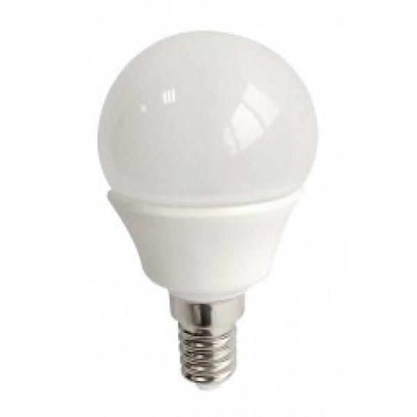 LED E14 G45 3.5watt Λευκό Κάλυμμα - Θερμό INLIGHT 7.14.03.14.1