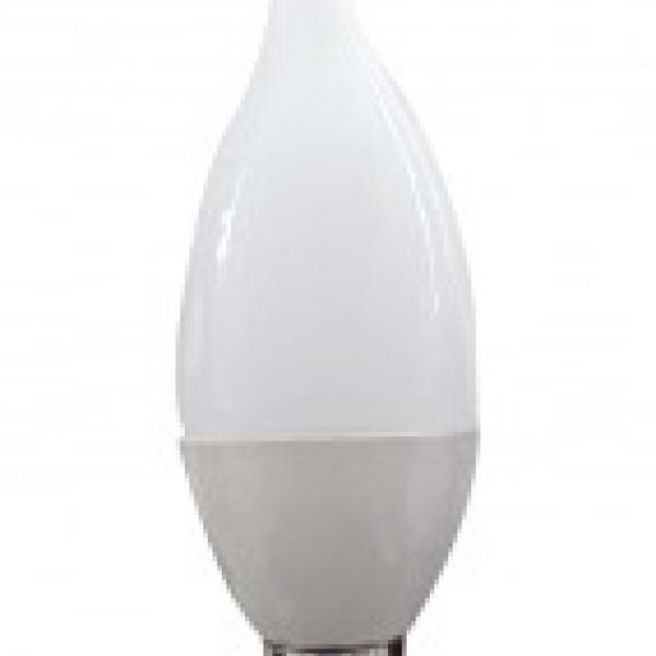 LED E14 CL35 5watt Λευκό Κάλυμμα - Θερμό INLIGHT 7.14.05.08.1