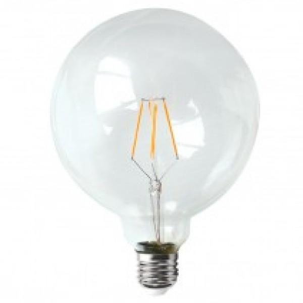 LED Filament E27 6watt G125 INLIGHT 7.27.06.15.1