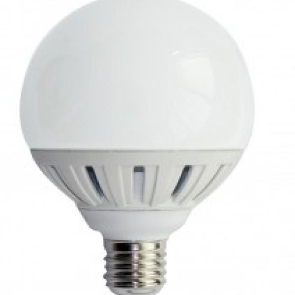 LED E27 G95 15watt - Ψυχρό INLIGHT 7.27.15.14.3