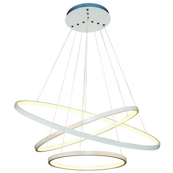 ARlight Κρεμαστό Φωτιστικό 3Φ LED 110W Crown Μεταλλικό Λευκό - 0103313