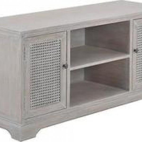 Έπιπλο τηλεόρασης ξύλινο σε μπεζ χρώμα INART 3-50-488-0008 120x40x56 εκ.