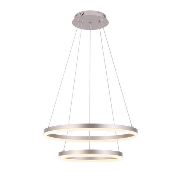 ΠΟΛΥΦΩΤΟ-ΚΡΕΜΑΣΤΟ ΦΩΤΙΣΤΙΚΟ LED-ΚΩΔ. D88059/2-SLV