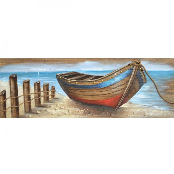 MARHOME ΠΙΝΑΚΑΣ ΒΑΡΚΑ ΣΕ ΞΥΛΟ (3D) 50x150x4cm 4/ΚΙΒ