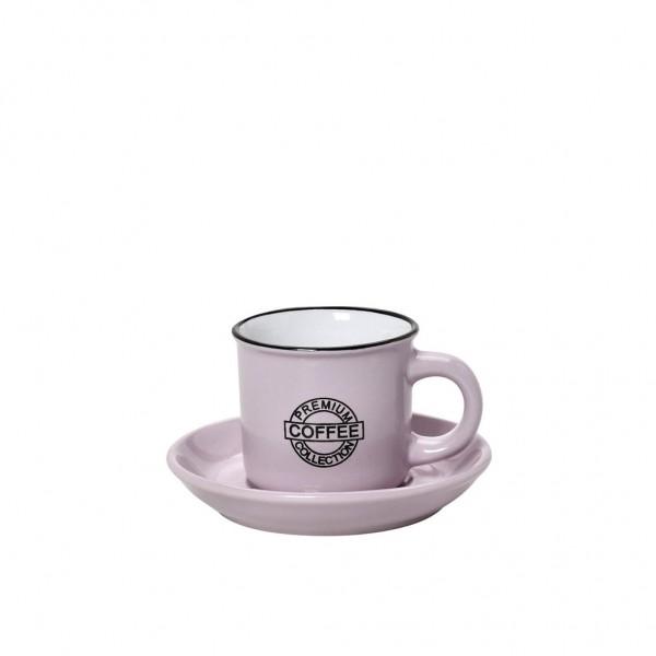 Espiel COFFEE ΦΛΙΤΖ.&ΠΙΑΤ. ESPRESSO  ΡΟΖ 90ML 11x6.3EK