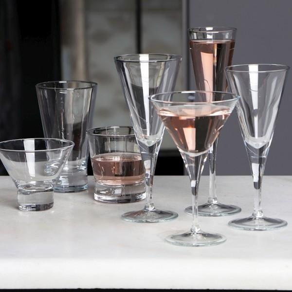 Espiel V-LINE RED WINE GLASS SET6 200CC 8.1x20CM.