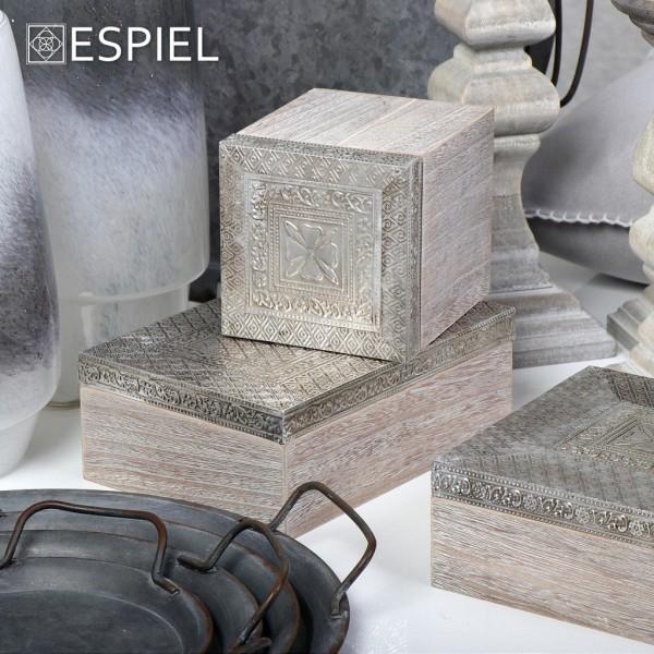 Espiel ΞΥΛΙΝΟ ΚΟΥΤΙ 18Χ18Χ7.5ΕΚ.