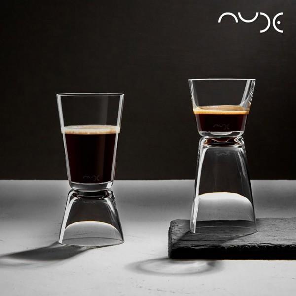 Espiel NUDE DUAL COFFEE SET2 55-100CC D:5.5 H:12.1