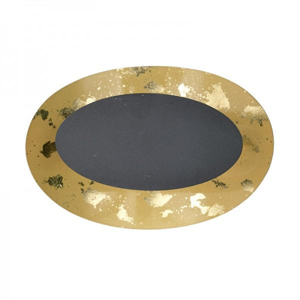 INART Απλίκα 20X11X14 εκ Black, Golden ΚΩΔΙΚΟΣ: 3-10-848-0003