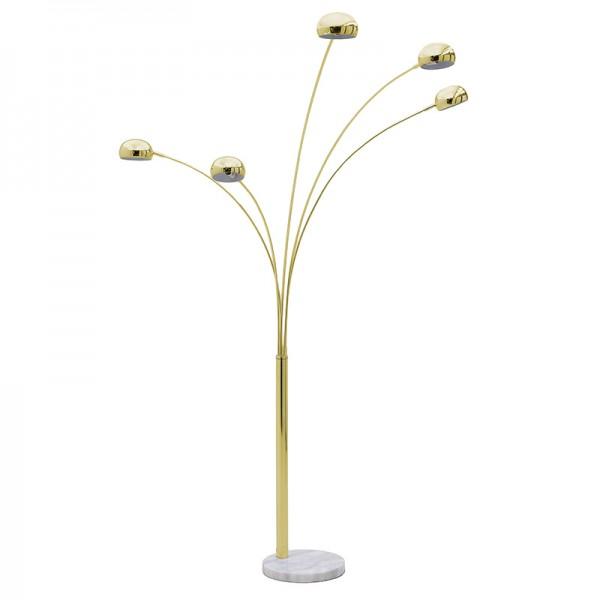INART Επιδαπέδιο Φωτιστικό 172X42X225 εκ White-Ivory, Golden ΚΩΔΙΚΟΣ: 3-15-585-0017