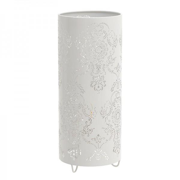 INART Επιτραπέζιο Φωτιστικό 13X13X32 εκ White-Ivory ΚΩΔΙΚΟΣ: 3-15-774-0040