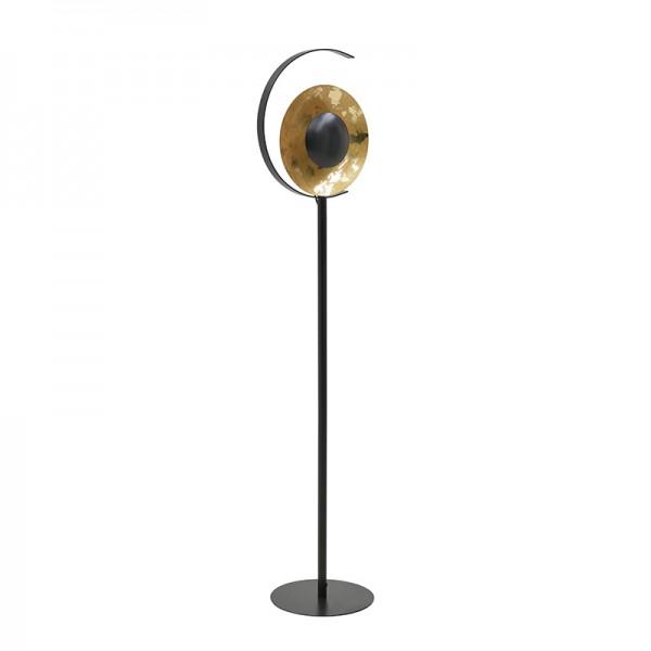 INART Επιδαπέδιο Φωτιστικό 35X30X155 εκ Black, Golden ΚΩΔΙΚΟΣ: 3-15-848-0004