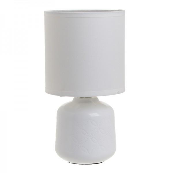 INART Επιτραπέζιο Φωτιστικό 12.5X12.5X24 εκ White-Ivory ΚΩΔΙΚΟΣ: 3-15-958-0019