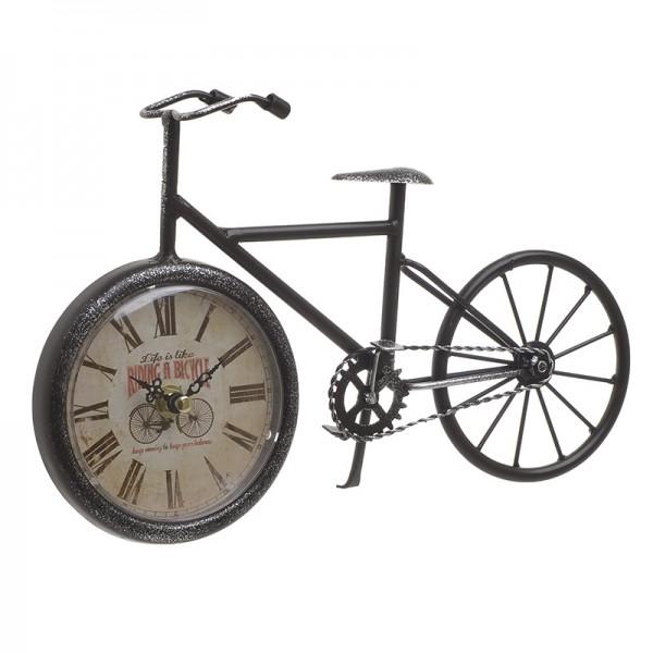 INART Επιτραπέζιο Ρολόι 29X6X19 εκ Black ΚΩΔΙΚΟΣ: 3-20-977-0268