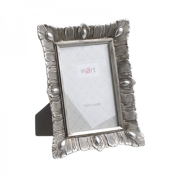 INART Κορνίζα 10X15 16X2X21 εκ Silver ΚΩΔΙΚΟΣ: 3-30-383-0158