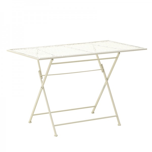 INART Μεταλλικό Τραπέζι 110X60X70 εκ Mint ΚΩΔΙΚΟΣ: 3-50-207-0082