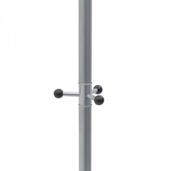 INART Καλόγερος 38X38X180 εκ Black, Silver ΚΩΔΙΚΟΣ: 3-50-227-0019