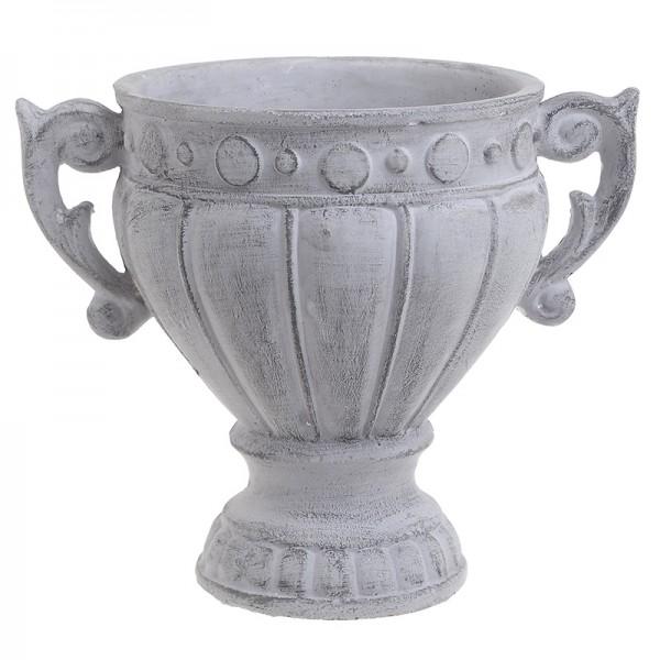 INART Αμφορέας 28X19X23 εκ Grey ΚΩΔΙΚΟΣ: 3-70-456-0082