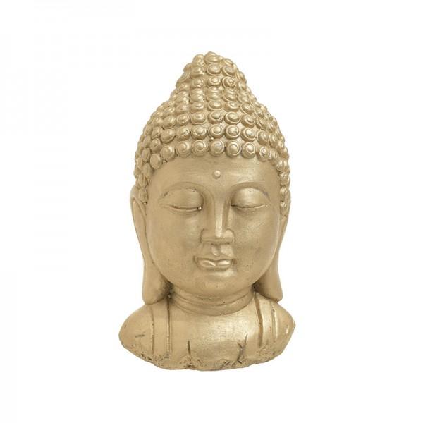 INART Βούδας 17X15X28 εκ Golden ΚΩΔΙΚΟΣ: 3-70-456-0126