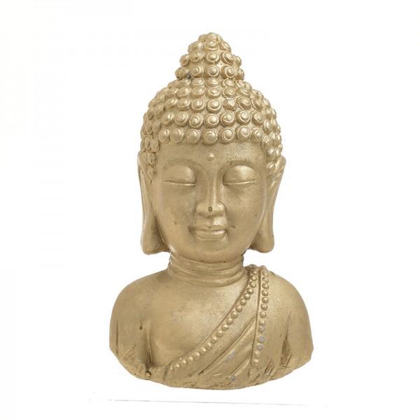 INART Βούδας 18X14X31 εκ Golden ΚΩΔΙΚΟΣ: 3-70-456-0127