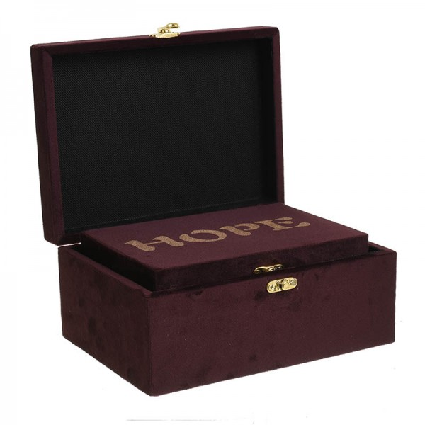 INART Κουτί Σετ Των 3 22X16X10 εκ Pink-Purple ΚΩΔΙΚΟΣ: 3-70-491-0009