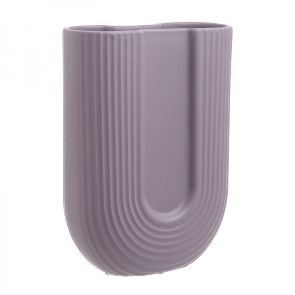 INART Βάζο 23X9X30 εκ Pink-Purple ΚΩΔΙΚΟΣ: 3-70-573-0009