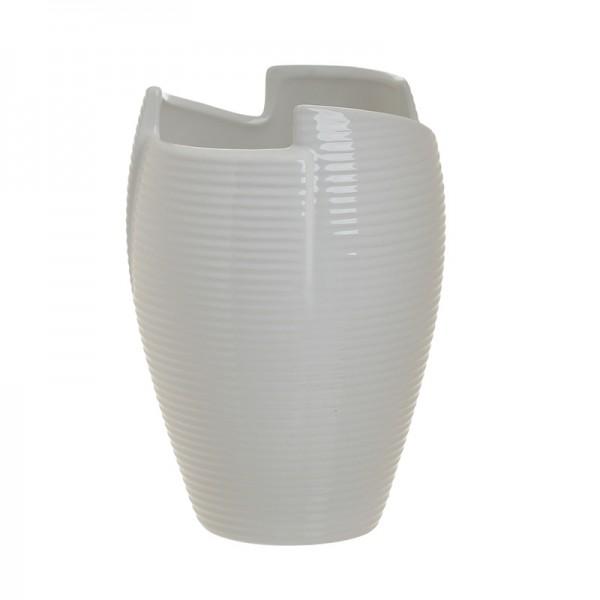 INART Βάζο 14.4X14.4X20 εκ White-Ivory ΚΩΔΙΚΟΣ: 3-70-797-0013