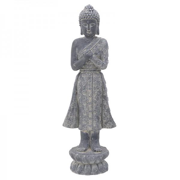 INART Βούδας 24X18X71.5 εκ Grey ΚΩΔΙΚΟΣ: 3-70-801-0041