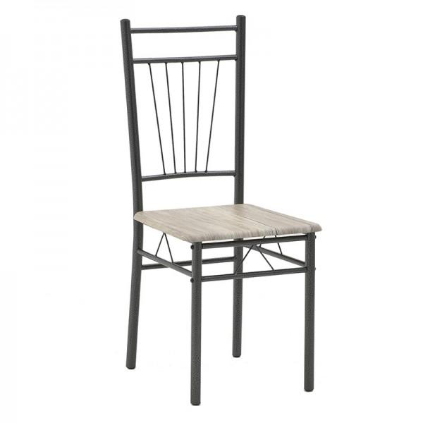 INART Σετ Τραπεζαρία Με 4 Καρέκλες 120X69X75 εκ  ΚΩΔΙΚΟΣ: 6-50-673-0006